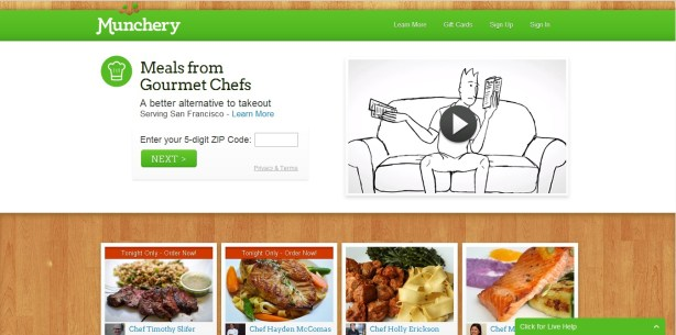 Munchery Meals From Gourmet Chefs
