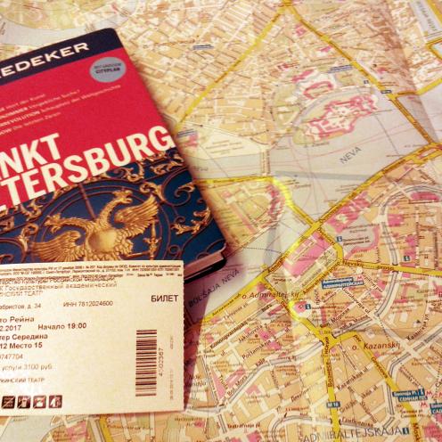 Stadtplan mit Rheingold-Karte
