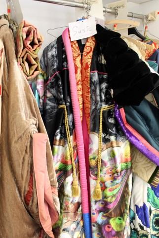 Die Geisha-Kostüme des Damenchores