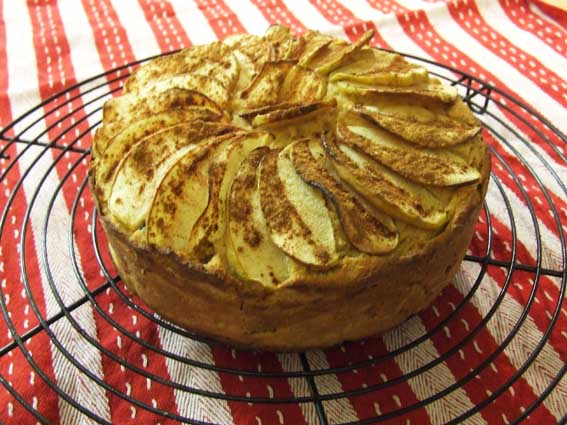 Paleo Applesauce Cake IV
