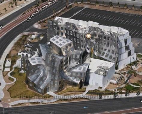 ラスベガスの変な建物