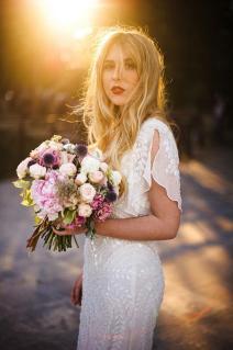 Robe de mariage bohème