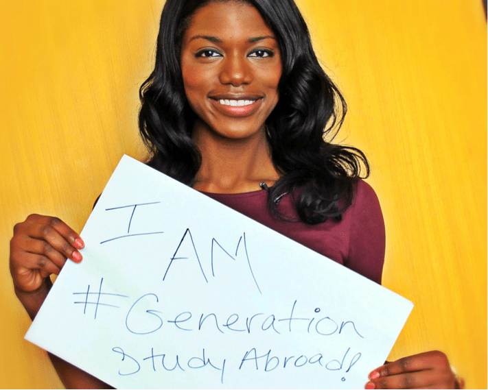 girl holding generation sab sign