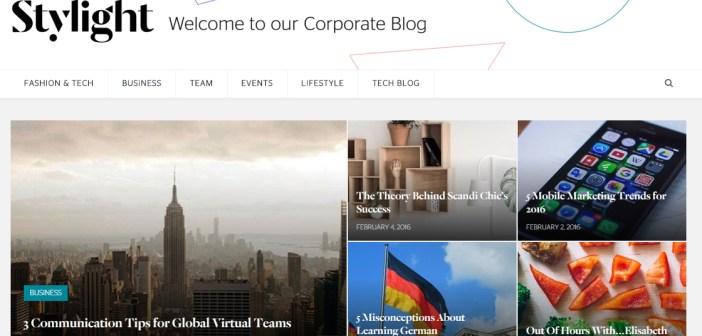 Stylight New Blog Social Screenshot