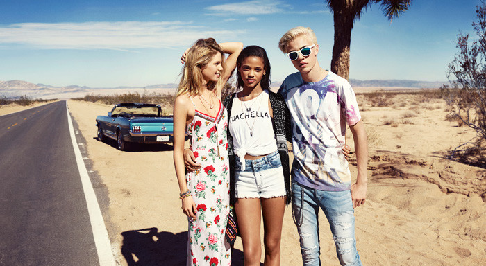 H&M Loves Coachella collection 2016