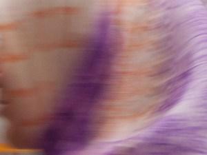 "William-Allen. Scarf image from ""Swimming with Headscarf Ladies"" by Kirsten Voris"