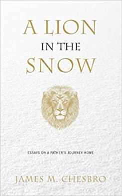 A Lion in the Snow Cover