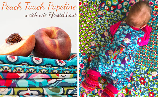 Peach Touch Popeline: Neu bei Swafing