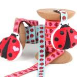 Ladybird Webband von Farbenmix