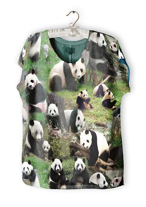 Shirt aus Digitaldruck Jersey Tim von Swafing