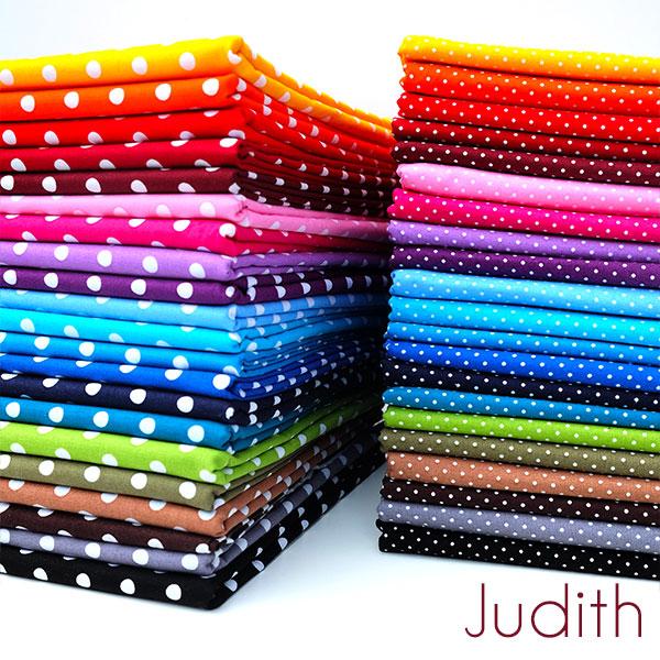 Punkte Baumwolldruck Judith