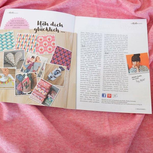 Mollie Makes Nähen Spezial - Chefredakteurin Andrea Müller - Jolijou