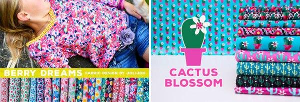 Berry Dreams & Cactus Blossom von Jolijou - FS 2017 Swafing