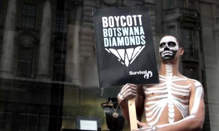 Boycott Botswana Diamonds & Help Kalahari Bushmen- PlanetSave