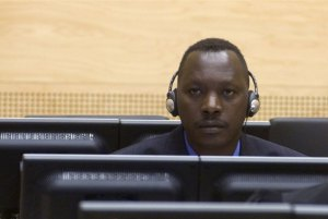 Thomas Lubanga Dyilo at his first appearance before the ICC in March 2006. Photo: ICC/Hans Hordijk