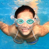 Fish Face Marlin Pro Swim Goggles