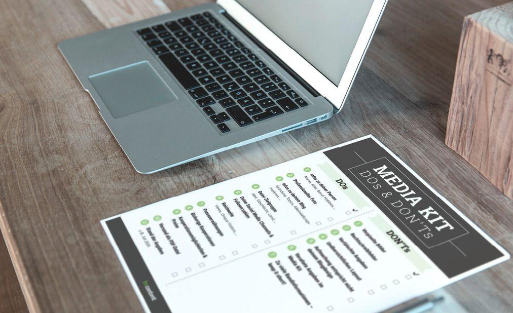 Media Kit – DOs und DON'Ts als Checklist zum Download