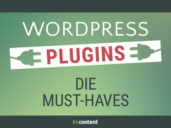 Must-Haves der Wordpress-PlugIns