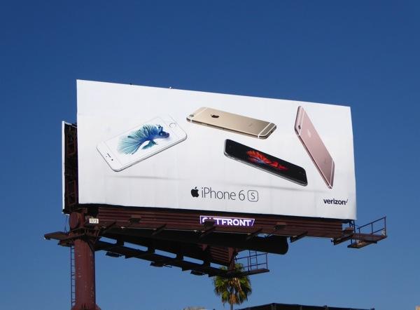 iphone 6s verizon billboard