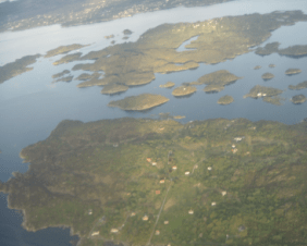 flying into Norway