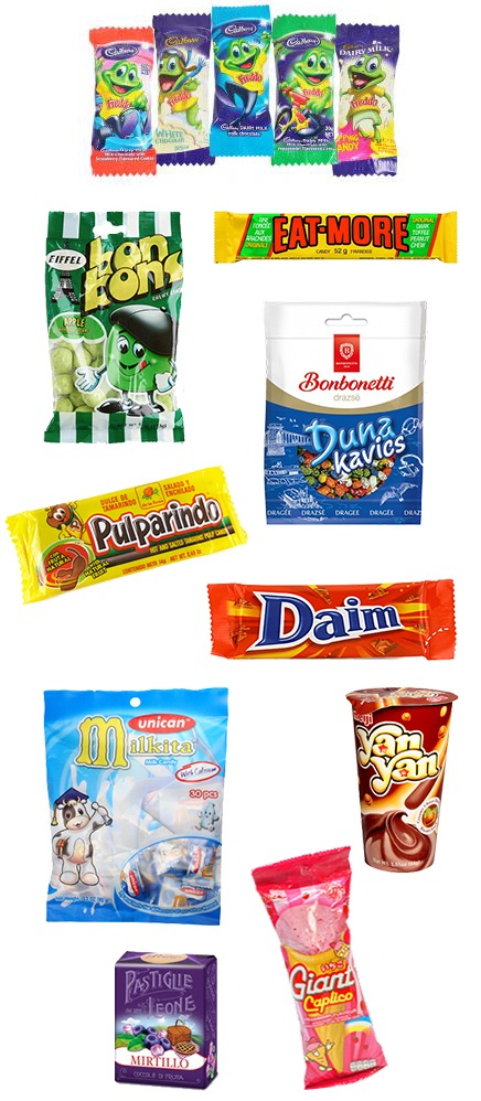 candy from around the world