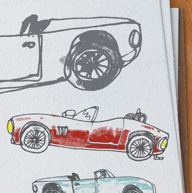 Race Car design sketch