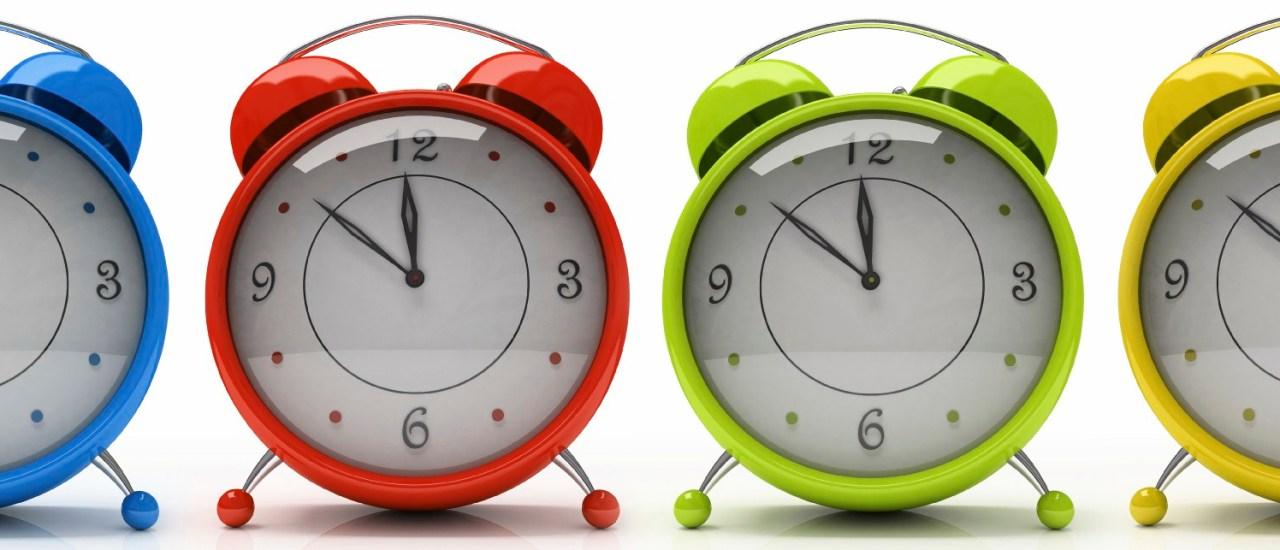 ¡No tengo tiempo! Cuatro claves para organizarse mejor