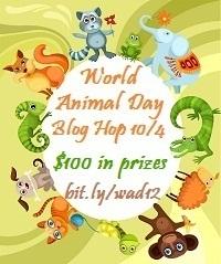 World Animal Day Blog Hop: 10/4
