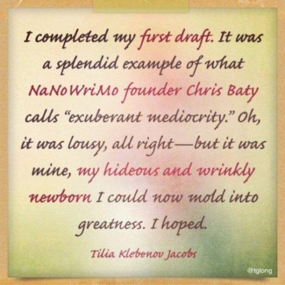 Tilia Klebenov Jacobs quote