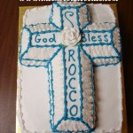 Blue Cross Cake