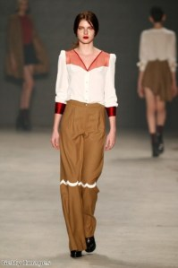 Wide-legged and flared trousers are a must