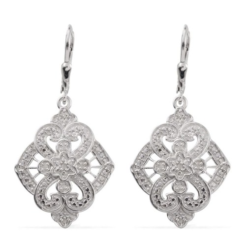 Go for a statement look with stunning diamond statement earrings