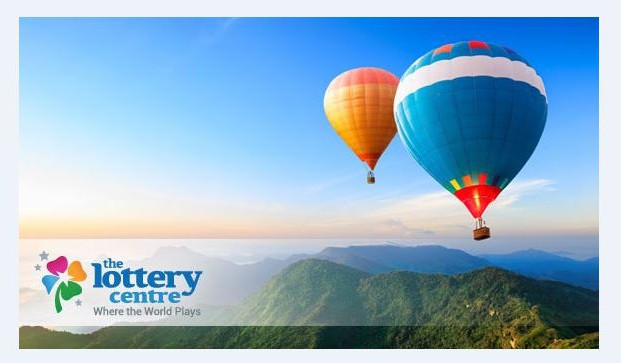 The Lottery Centre goes hot air ballooning