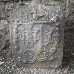 Stone carving, Kilconnell Abbey, Co. Galway