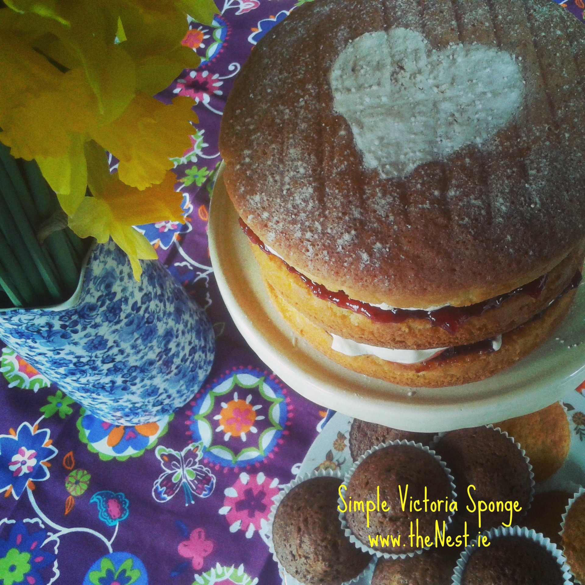Reasons for Cake (Simple and delicious Victoria Sponge Recipe)