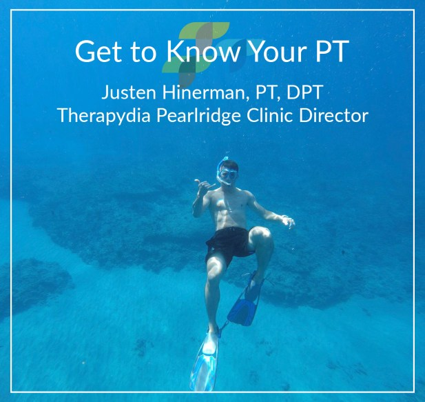 Justen Hinerman Pearlridge Aiea Physical Therapy