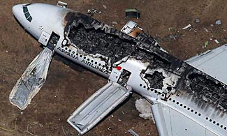 It is incredible that all but two people survived both the crash and the fire on Asiana flt 214.