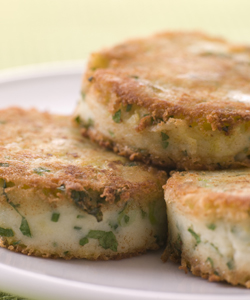 Potato recipe competition - Bubble and Squeak Cakes