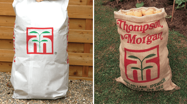 Potato sacks - paper & hessian
