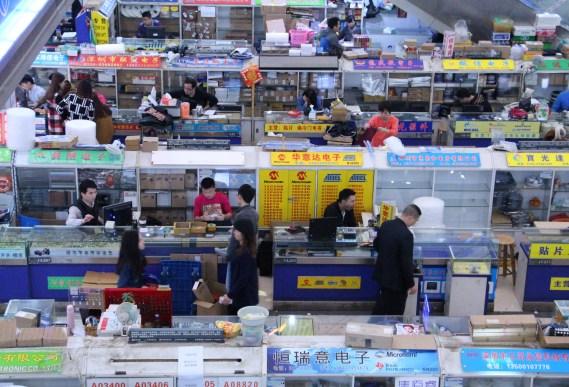 Market in Huaqiangbei, Shenzhen