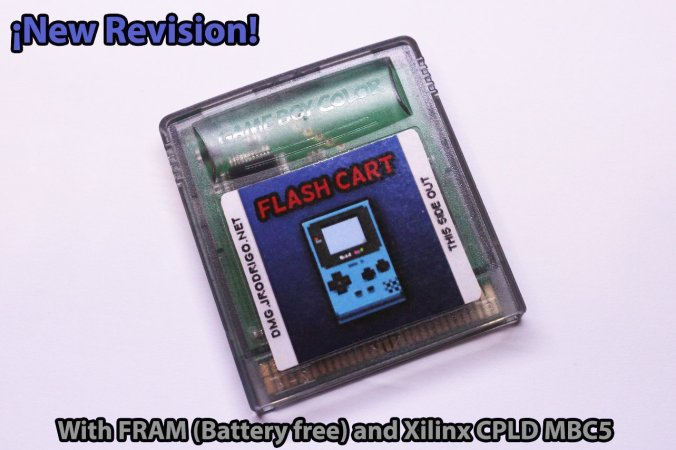 Rodrigo's Game Boy flash cartridge