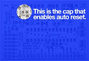 This is the cap that allows auto reset