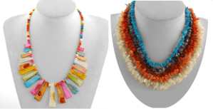 Fun, Fabulous Flirty Necklaces, perfect for Carnival