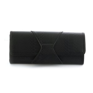 J Francis Luxurious Black Colour Clutch Bag. Today's Price £ 9.99