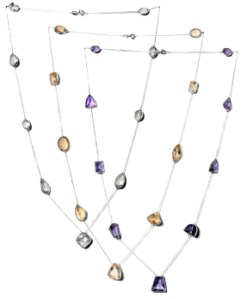 Faceted Necklaces