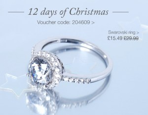 Swarovski Ring - 50% discount