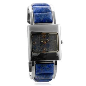 GENOA Japanese Movement Lapis Bangle Watch