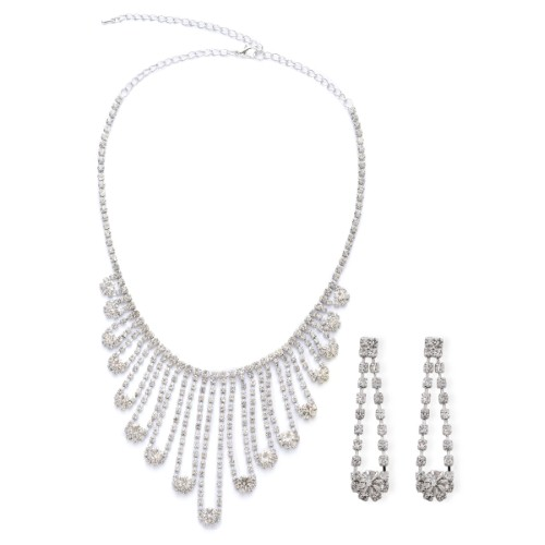 Let your bridesmaids glitter in crystal jewellery
