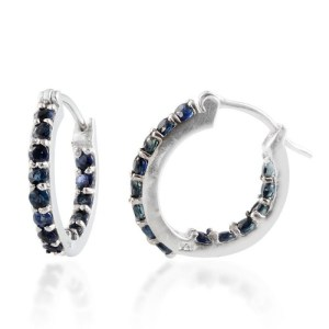 Dark blue stones are perfect with all hair colours