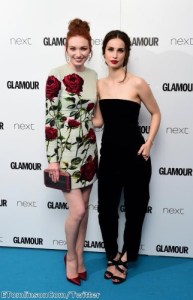 Eleanor and Heida looked stunning in different styles